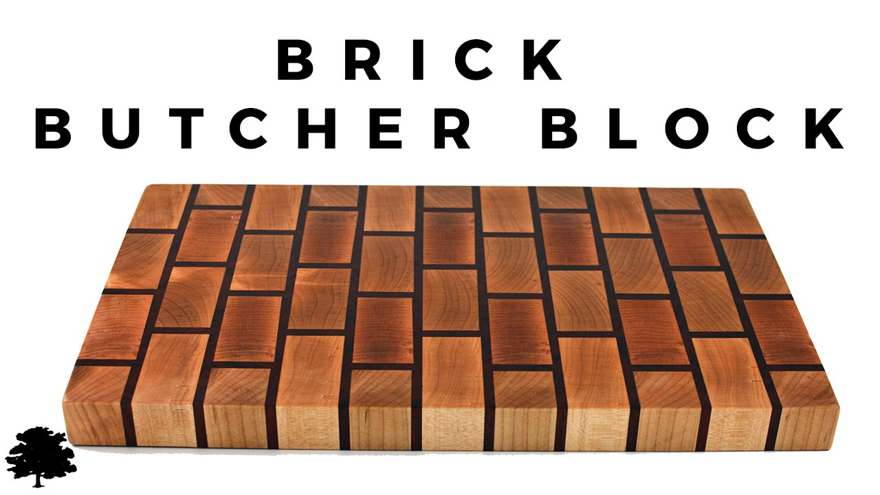 Padauk Brick Butchers Block